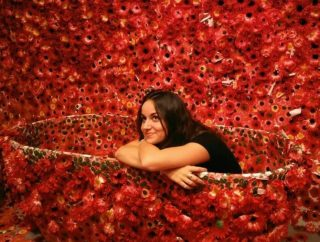 """""""I saw the entire room, my entire body, and the entire universe covered with red flowers, and in that instant my soul was obliterated...this was not an illusion but reality itself."""" - Yayoi Kusama"""